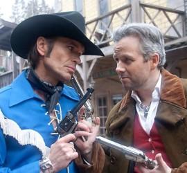 """Sheriffen av Tusenfryd og """"Svigersønnen fra Helvete""""."""
